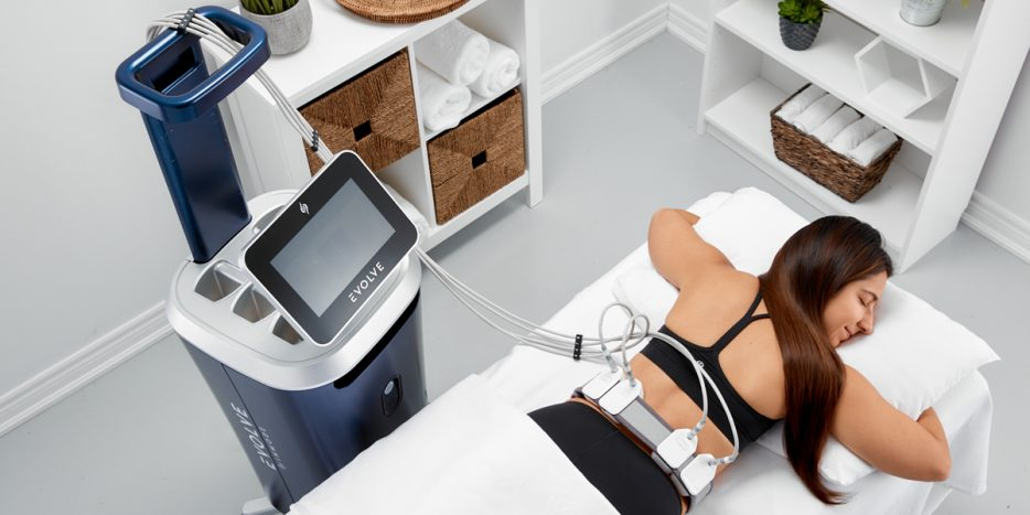 Patient Enjoy Body Contouring Services their Home Office